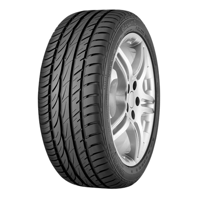 """Barum is launching its first tyre with an asymmetrical tread pattern - the Bravuris 2. This means the brand now has a high-tech product in its range that is capable of speeds up to 300 km/h (187 mph). This tyre also offers enhanced lateral guidance, short braking distances and a longer service life, making it a worthy successor to the previous model. The new Bravuris 2 will initially be available in 16 different sizes suitable for 16"""" to 20"""" rims., Der Barum Bravuris 2 bietet Ihnen als wirtschaftlicher Allrounder viel Fahrspaß für wenig Geld.,"""