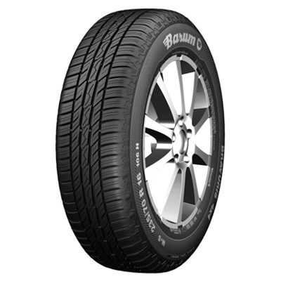 """This new tyre for all-wheel-drive vehicles and SUVs has been designed in such a way that it builds up good road grip for lateral guidance and braking when used on the road and provides sufficient grip for driving in light off-road terrain. The balanced ground pressure distribution of the very flat tyre contour means low wear and thus high mileage performance - making the new Bravuris 4x4 an attractive tyre for a wide range of all-wheel-drive vehicles. The new Bravuris 4x4 is now available in 19 different sizes from 80 to 55 Series tyres, suitable for 15"""" to 19"""" rim diameters; tyre width is up to 265 millimetres. The range also includes a light van tyre and one line in an inch size for American SUVs., Der Barum Bravuris 4x4 kombiniert sicheren Fahrspaß mit einer guten Laufleistung und angenehm leisem Abrollgeräusch.,"""