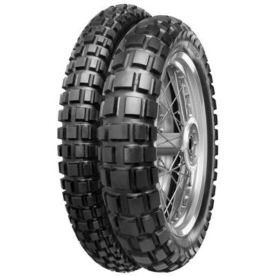Well-tried multi-use tyre for both street and dirt., Bewährtes Multitalent für den kombinierten Straßen- und Geländeeinsatz.,