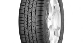 , Im Einsatz auf 4x4-Fahrzeugen bietet der ContiCrossContactWinter ausgezeichnete Traktions- und Bremsleistungen auf Schnee und winterlichen Fahrbahnen. Der Reifen überzeugt auch durch einen ruhigen, rollwiderstandsarmen Lauf.