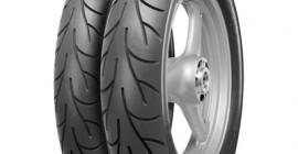 New City tyre for light motor bikes., Neuer City-Reifen für Leichtmotorräder.,